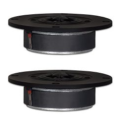 Goldwood Sound, Inc. Sound Module, Titanium Dome Tweeters 120 Watt each 8ohm Replacement Round 2 ...