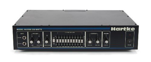 Hartke 3500C Bass Guitar Amplifier Head, 350 Watts