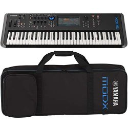 Yamaha MODX6 61-Key Synthesizer (With YSCMODX6 soft case)