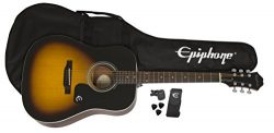 Epiphone FT-100 Acoustic Guitar Player Pack, Vintage Sunburst
