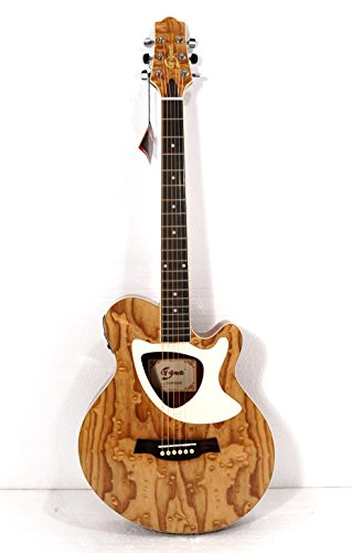 acoustic electric cutaway guitar thin body built in tuner musicalbin musicalbin. Black Bedroom Furniture Sets. Home Design Ideas