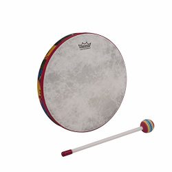 Remo Kid's Percussion 14 inch Hand Drum in Rainforest Design (Age 5+)