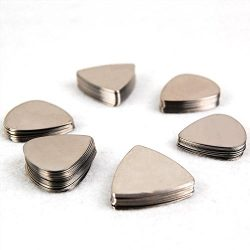 Epic Accessories Pack of 20 Stainless Steel Metal Guitar Picks
