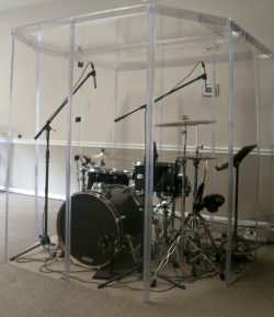 Drum Booth Sound Room , Drum Shields or Drum Shield
