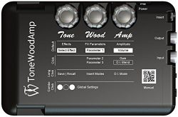 The ToneWood Amp Acoustic Electric Pre Amp/Multi-Effect Processor …