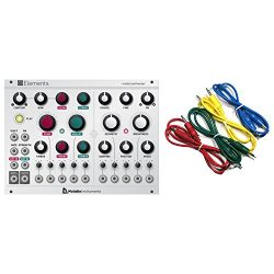 Mutable Instruments Elements Modal Eurorack Synth Module w/ 4 Cables