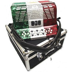 Bonetti Tex Mex 3-Switch Diatonic Button Accordion FBE 3412