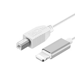 MeloAudio USB 2.0 Cable Type B to Midi Cable OTG Cable Compatible with iOS Devices to Midi Contr ...