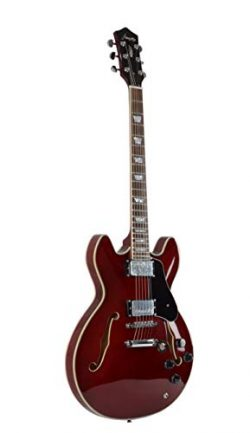 Firefly FF338 Semi-Hollow Body Guitar(Wine Red)