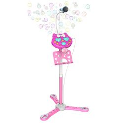 Kids Karaoke Microphone With Stand, Kids Karaoke Machine With Microphone Singing, Creative Birth ...