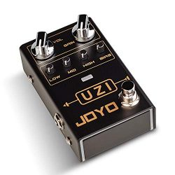 JOYO R-03 UZI Distortion Pedal Guitar Effect Pedal for Heavy Metal Music, With BIAS Knob, True B ...