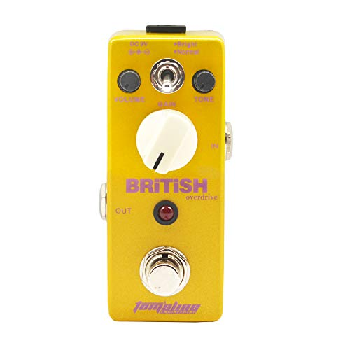 Guitar Distortion Effect Pedal PLEXION Classic British Style Recreation of 70-80's Marshal ...