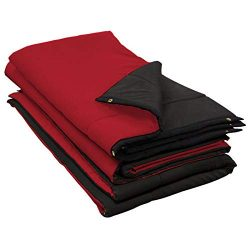 Audimute Sound Absorption Sheet Sound – Dampening Blanket – Soundproofing Sheet (Red)