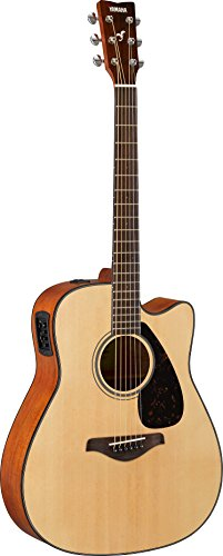 Yamaha FGX800C Solid Top Cutaway Acoustic-Electric Guitar