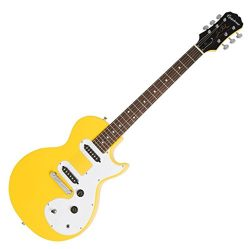 Epiphone ENOLSYCH1 Solid Body Electric Guitars Les Paul SL, Sunset Yellow
