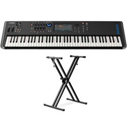 Yamaha MODX7 76-Key Synthesizer (With Double braced Keyboard Stand)
