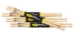 Sound Percussion Labs Hickory Drumsticks 4-Pack 5B Wood