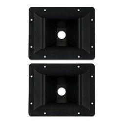 Goldwood Sound Inc. Sound Module, Heavy Duty ABS Directivity Horns Molded Horn Lenses 2 Piece Pa ...
