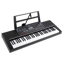 Ohuhu 61-Key Digital Piano Keyboard, Portable Electric Keyboard Piano with Teaching Modes For Be ...