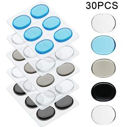 30 Pieces Drum Dampeners Gel Pads Silicone Drum Silencers Dampening Gel Pads Non-toxic Soft Drum ...