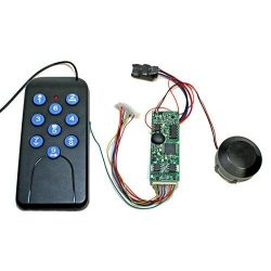 Diesel On-Board Sound Module w/Remote, Frequency A