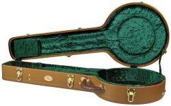 Superior CD-2530 Deluxe Hardshell 5 String Resonator Banjo Case