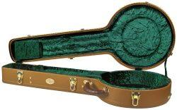 Superior CD-2530 Deluxe Hardshell 5 String Resonator Banjo Case
