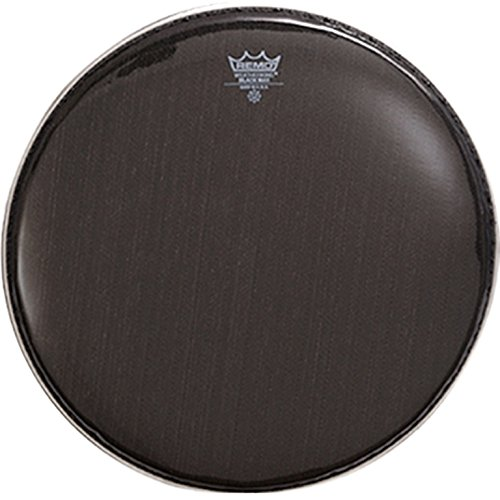 remo ks0614 00 black max marching snare batter drum head 14 inch musicalbin musicalbin. Black Bedroom Furniture Sets. Home Design Ideas