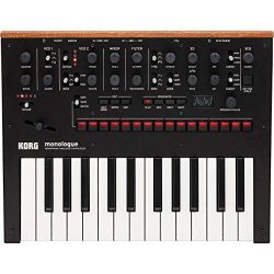 Korg Monologue Monophonic Analog Synthesizer with Presets-Black (MONOLOGUEBK) (Renewed)