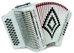 Montanari 3112 G Acordeon SOL Blanco Accordion GCF