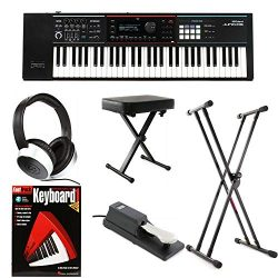 Roland JUNO-DS61 Essential Keyboard Bundle