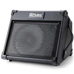 Guitar Amplifier, Personal Monitor Amplifier Electric Drum AMP PA Workstation Keyboard Speaker,  ...