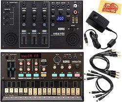 Korg Volca FM Digital Synthesizer Bundle with Korg Volca Mix and Austin Bazaar Polishing Cloth