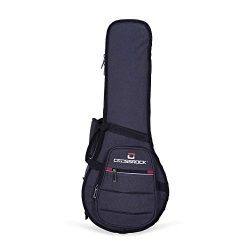 Crossrock 10mm Padded Backpack style A&F Mandolin bag (CRSG107MAFDG)