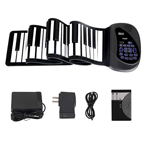 Portable Flexible Electronic 88-Key piano - ANDSF [2019