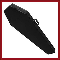 COFFIN CASES Model B195BK Extreme Bass Guitar Case Black Interior