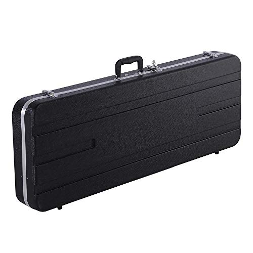 Yaheetech ABS Electric Guitar Case Elegant Hardshell Case for Strat/Telecaster Style Flight with ...