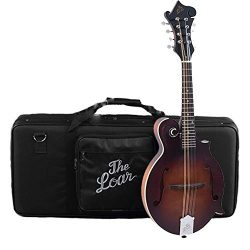 The Loar LM-310F-BRB Mandolin With Case