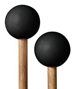 Timber Drum Company Made in U.S.A Mallets-Soft Rubber Head & Birch Handles-for Log, Tongue D ...