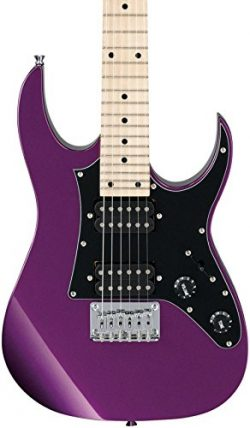 Ibanez 6 String Solid-Body Electric Guitar, Right, Metallic Purple (GRGM21MMPL)