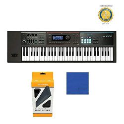 Roland JUNO-DS61 61-key Synthesizer with Official Roland Brand Dust Cover & Microfiber and 1 ...