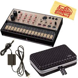 Korg Volca Keys Analogue Loop Synth Bundle with Case, Power Supply, and Austin Bazaar Polishing  ...