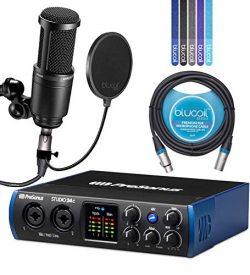 PreSonus Studio 24c USB-C Audio Interface Bundle with Studio One Artist Software, Studio Magic P ...
