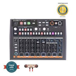 Arturia DrumBrute Impact Drum Machines includes Free Wireless Earbuds – Stereo Bluetooth I ...