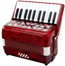 Classic Cantabile Secondo Junior 8 Bass Accordion 22 Treble Keys Eight Bass Keys with Strap and  ...