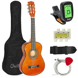 Best Choice Products 30in Kids Classical Acoustic Guitar Complete Beginners Kit with Carrying Ba ...