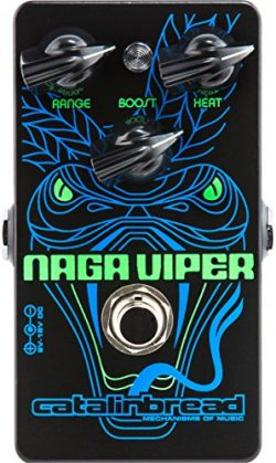 Catalinbread Naga Viper Modern Treble Booster Guitar Effects Pedal