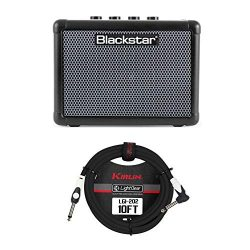 Blackstar FLY 3 Bass Combo Amplifier Bundle with Guitar Cable