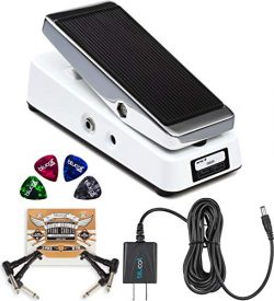 Xotic Wah XW-1 Guitar Effects Pedal with True Bypass Switch Bundle with Blucoil Slim 9V 670ma Po ...