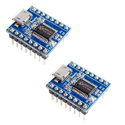 HiLetgo 2pcs JQ6500 Voice Module Sound Module MCU 5 Channel Serial Control MP3 Music Play SPI